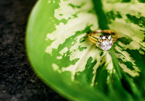 Follow Your Love Engagement Ring